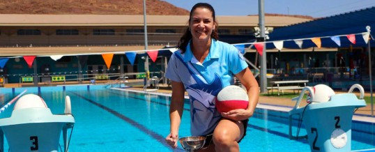 Winner of the 2016/17 Beaurepaire Memorial Trophy – Anouska Angove