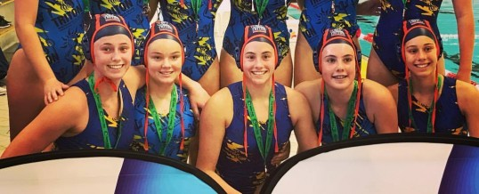 Tritons/Dolphins take bronze medal at the 16&U Girls National Championships