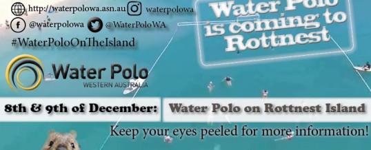 Water Polo is coming to Rottnest!