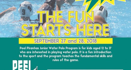 School Holiday Water Polo at Peel