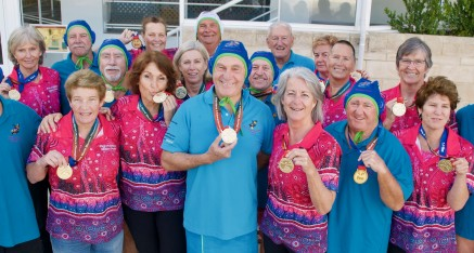 Golden Double at World Masters Water Polo Champs
