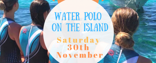 Final Schedule – Water Polo on the Island