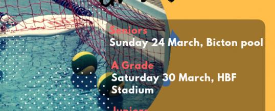Fixtures & Important Info ahead of Grand Finals