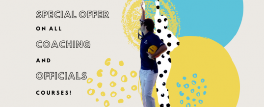 Discounted Officiating and Coaching Courses